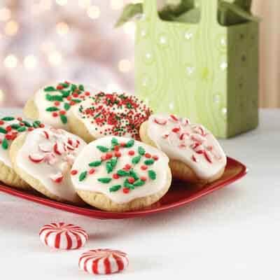 Gluten-Free Vanilla Glazed Cookies Recipe