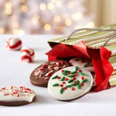 Holiday Peppermint Thins (Gluten-Free Recipe) Image