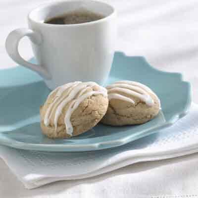 Gluten-Free Lemon Glazed Ginger Cookies Recipe