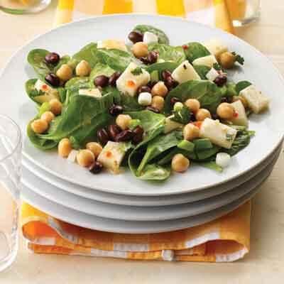 Beans & Greens Salad Image