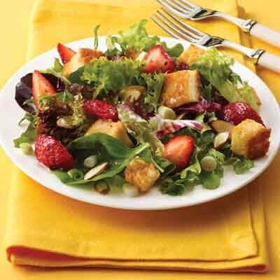 Strawberry Basil Salad Recipe