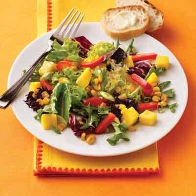 Spring Mango Salad Toss Image