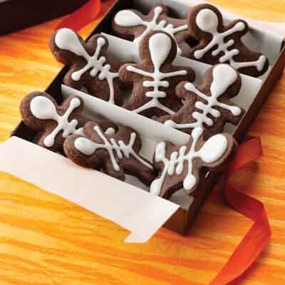 Easy Chocolate Skeletons Image
