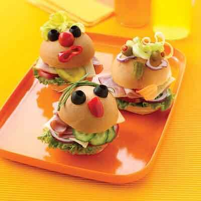 Mini Monster Sandwiches Image