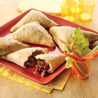 BBQ Beef & Bacon Turnovers Image