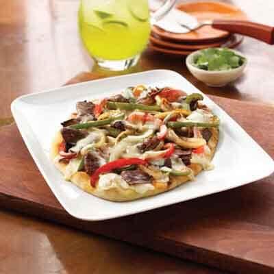 Easy Fajita Pizza Image