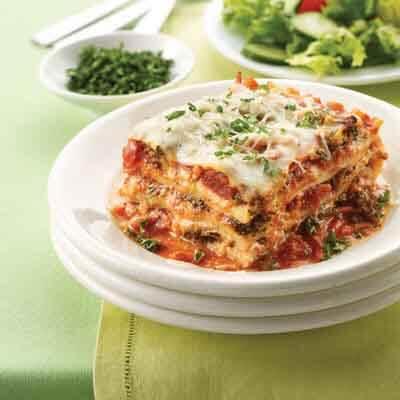 Five Cheese Veggie Lasagna Image