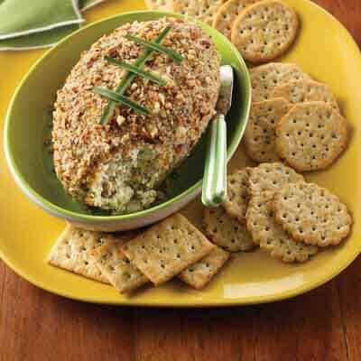 Nutty Touchdown Cheese Ball Image