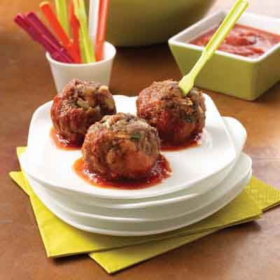 Cheesy Meatballs Recipe