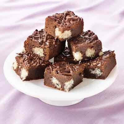 Coconut Candy Bar Brownies Image