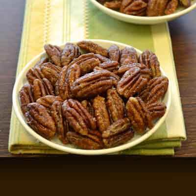 Caramelized Pecans Image