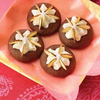 Chocolate Almond Thumbprints Image