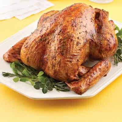 Apricot Herb Glazed Turkey Image