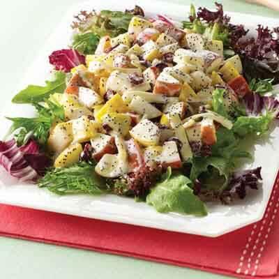 Winter Fruit Salad Image