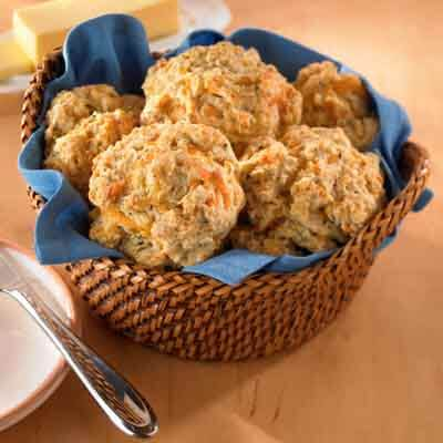 Lemon Pepper Drop Cheese Biscuits Image