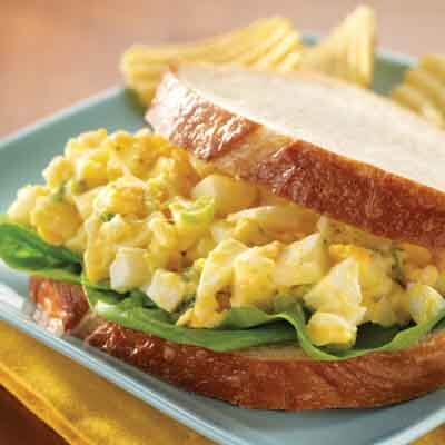 Lunchtime Egg Salad Sandwich Image