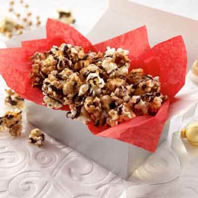 Chocolate Toffee Caramel Corn (Gluten-Free Recipe) Image