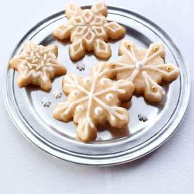 Snowflake Eggnog Cookies (Gluten-Free Recipe) Recipe ...