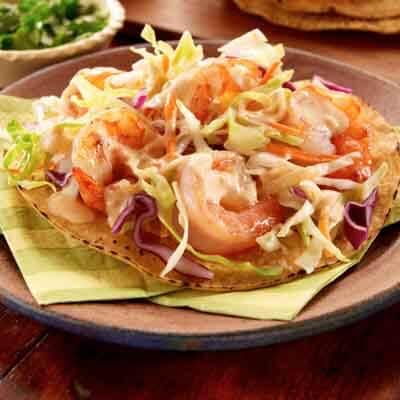 Easy Shrimp Tostadas Image
