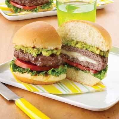 Backyard California Burgers Image