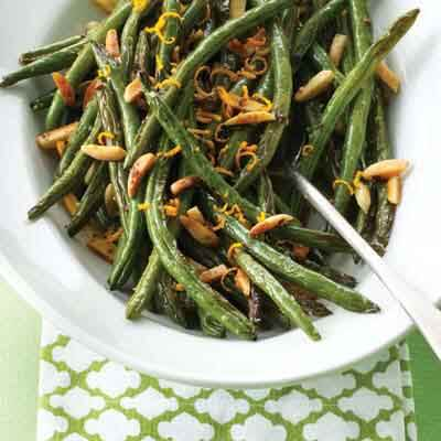 Roasted Green Beans & Almonds Image