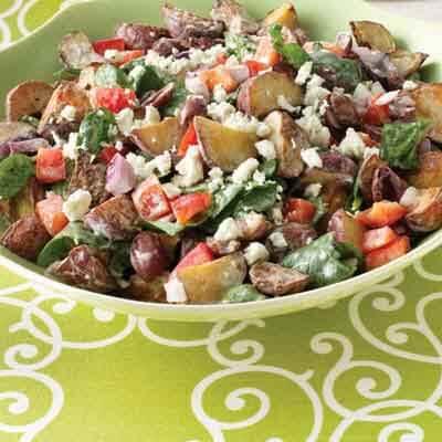 Greek-Style Roasted Potato Salad Image