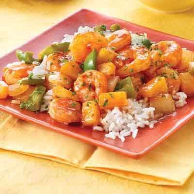 Pineapple BBQ Shrimp Image