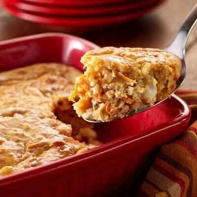 sweet potato corn pudding