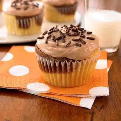 Chocolate Marbled Cupcake Recipe