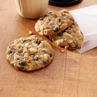 Oatmeal Blueberry White Chocolate Cookies Recipe