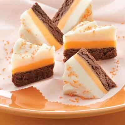 Candy Corn Fudge Image