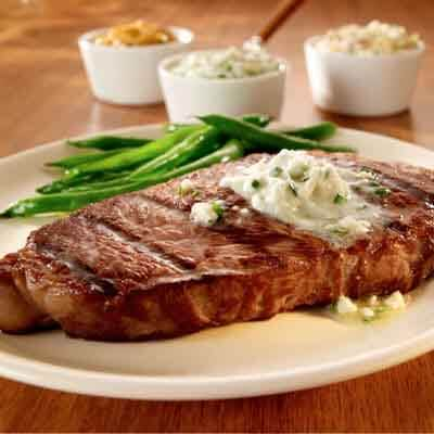 Steak with Savory Butters Image
