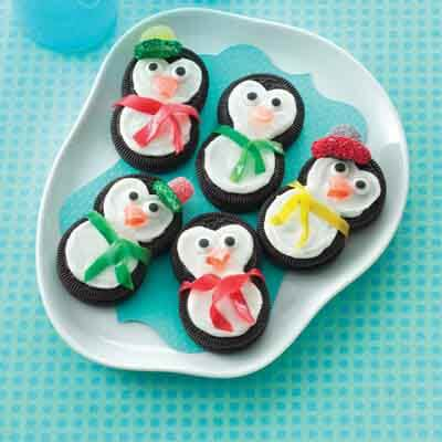 Penguin Party Cookies