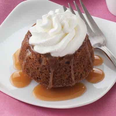 Sticky Toffee Dessert Cakes Image