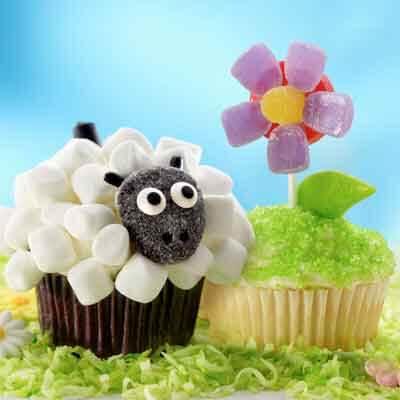 Flower Cupcake Recipes