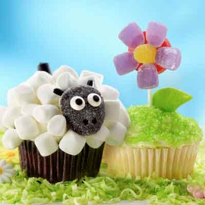 Flower Cupcakes Image