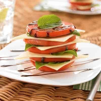 Tomato Salad Stacker Image