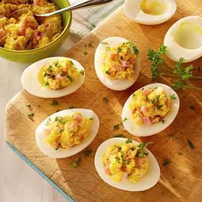 Deviled Eggs With Ham Image