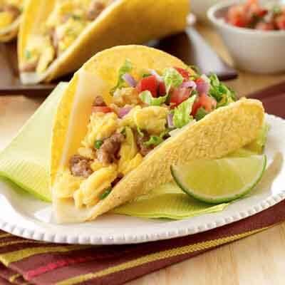 Scrambled Egg Tacos Image