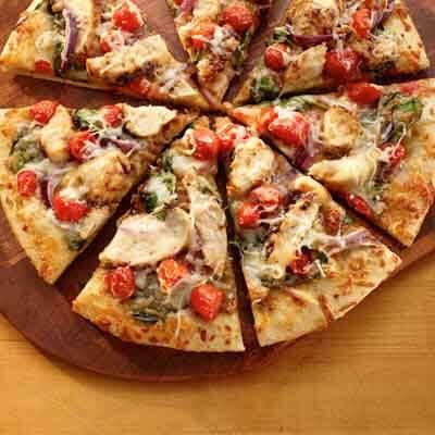 Chicken Pizza Italiano image