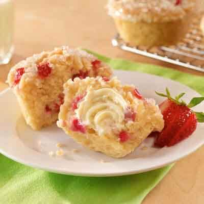 Strawberry Rhubarb Muffins Image
