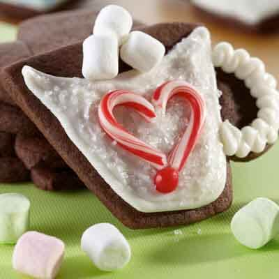 Hot Cocoa Cup Cookies Image