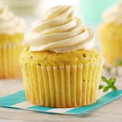 Buttercream Lemon Thyme Cupcakes Image