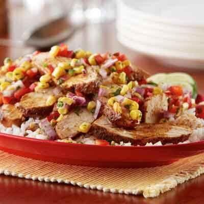 Cajun Chicken With Corn Salsa Image