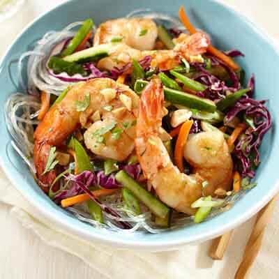 Vietnamese Cilantro Shrimp Salad Image