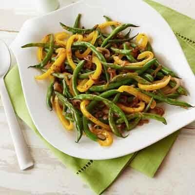 Green Bean & Pepper Sauté Image