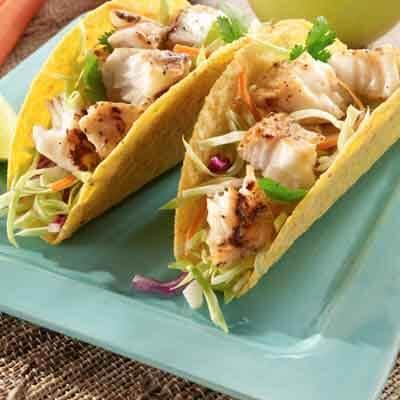 Lemon Pepper Fish Tacos Image