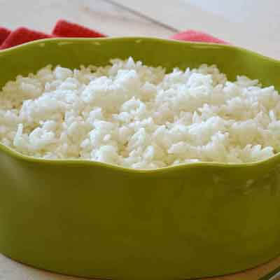 Oven-Steamed Rice Image