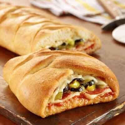 Pizza Braid Image