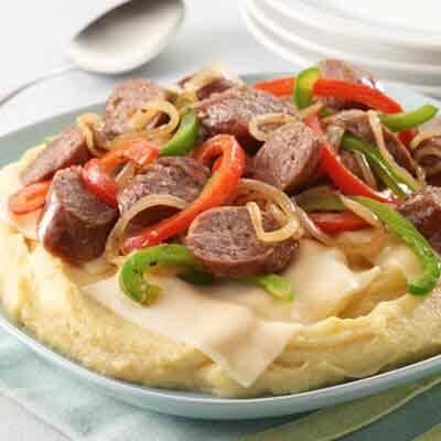 Sausage & Pepper Polenta Image
